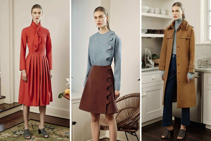 Looks from Trademark's fall 2015 collection.