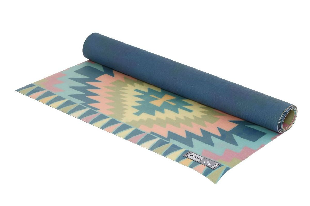 Prana Printed Eco Mat and Holder