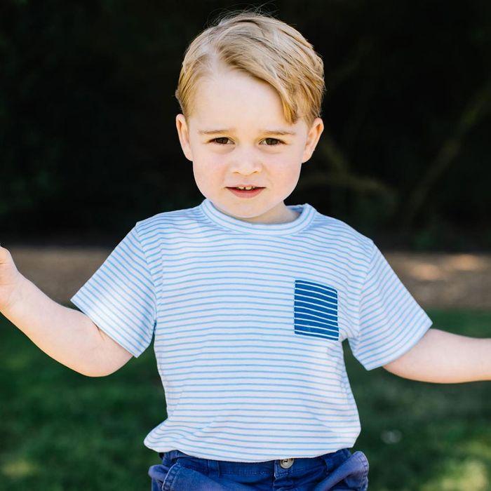 The tiny prince!