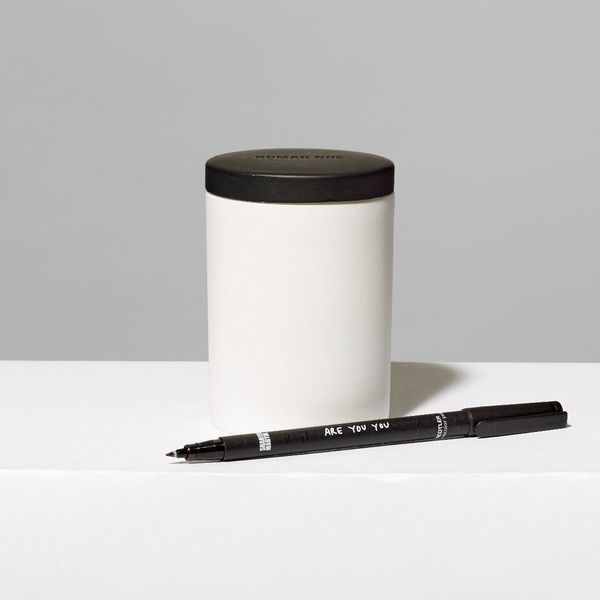 Nomad Noé Line Light Porcelain Candle