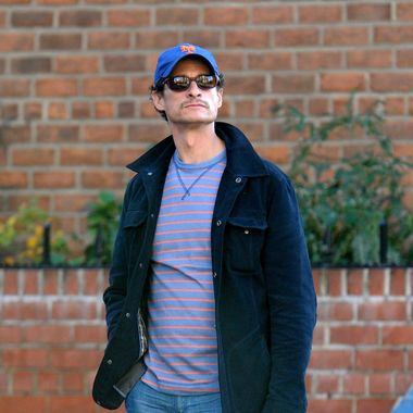 Former congressman Anthony Weineris seen in New York City Friday November 25, 2011.