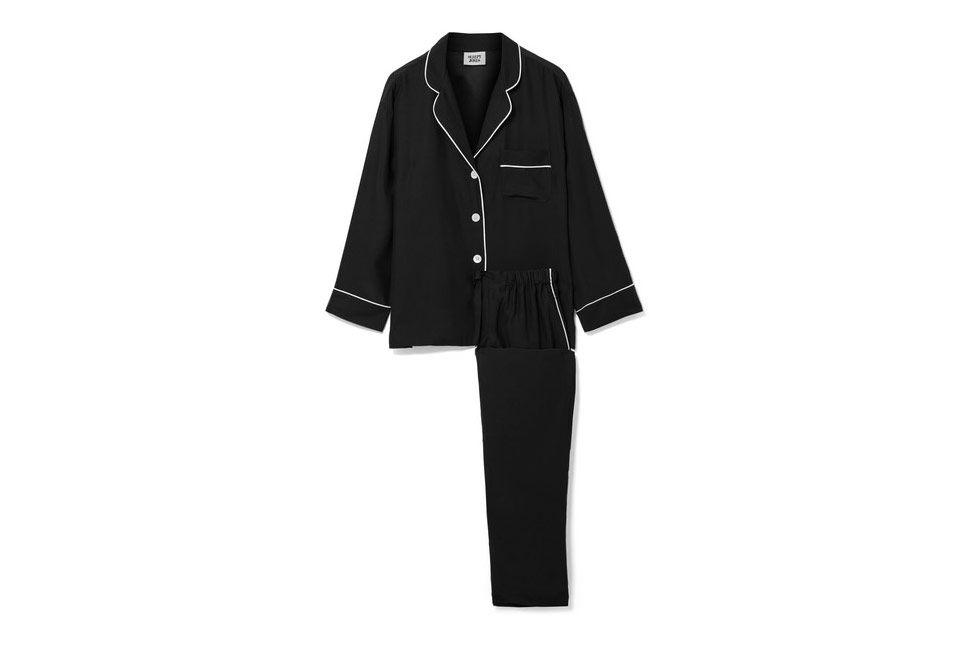 Sleepy Jones Marina Silk-Charmeuse Pajama Set