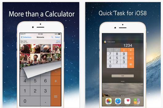 App that looks like a calculator
