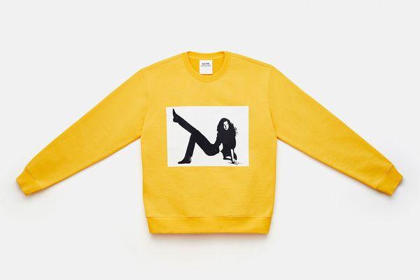 Icon Printed Crewneck Sweatshirt