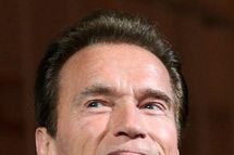 Former California Governor Arnold Schwarzenegger delivers a keynote address at the Vienna Energy Forum, organized by the United Nations, with heads of government, energy ministers, experts and companies. AFP PHOTO / DIETER NAGL (Photo credit should read DIETER NAGL/AFP/Getty Images)