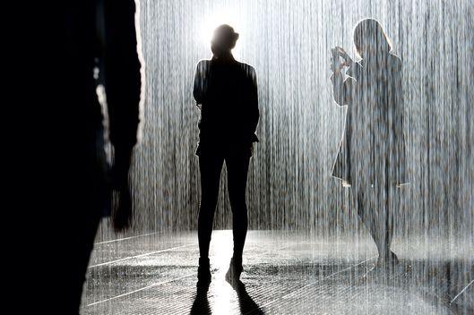 Inside MoMA\'s Rain Room Installation -- Vulture