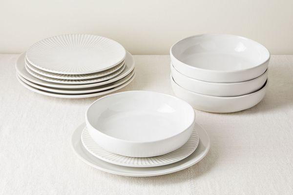 Five Two Stoneware 12-Piece Dinnerware Set