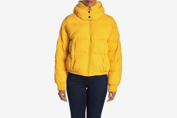 Lucky Brand Short Puffer Jacket