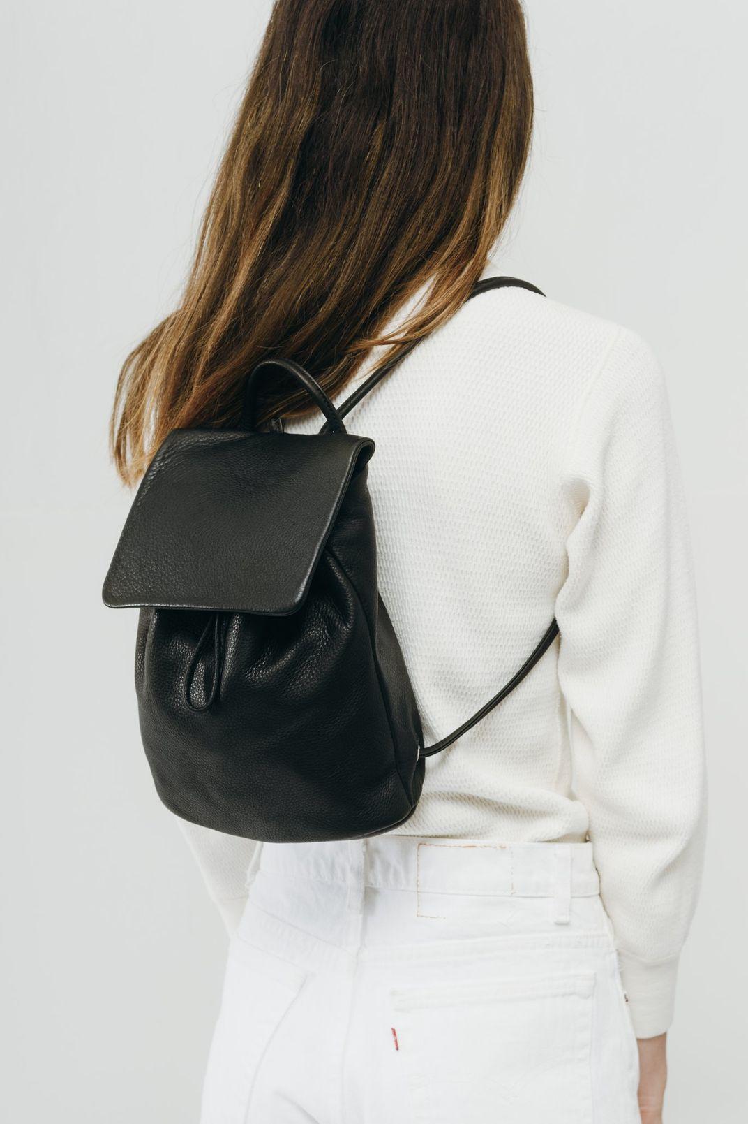 Baggu Mini Backpack, Black
