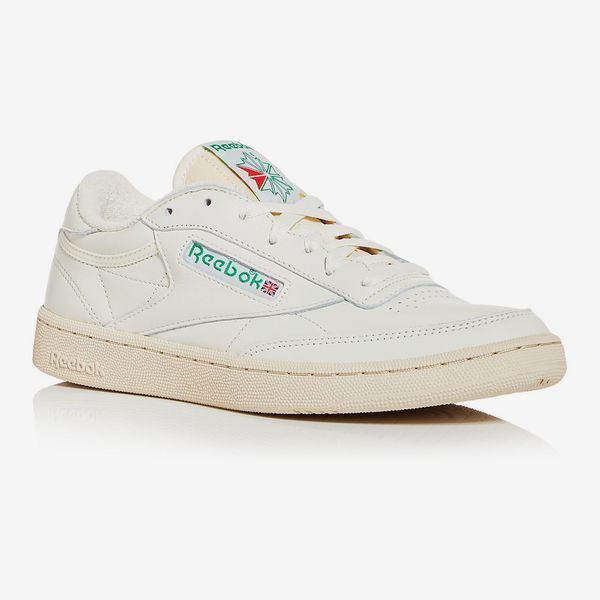 Reebok Men's Club C Classic Low Top Sneakers