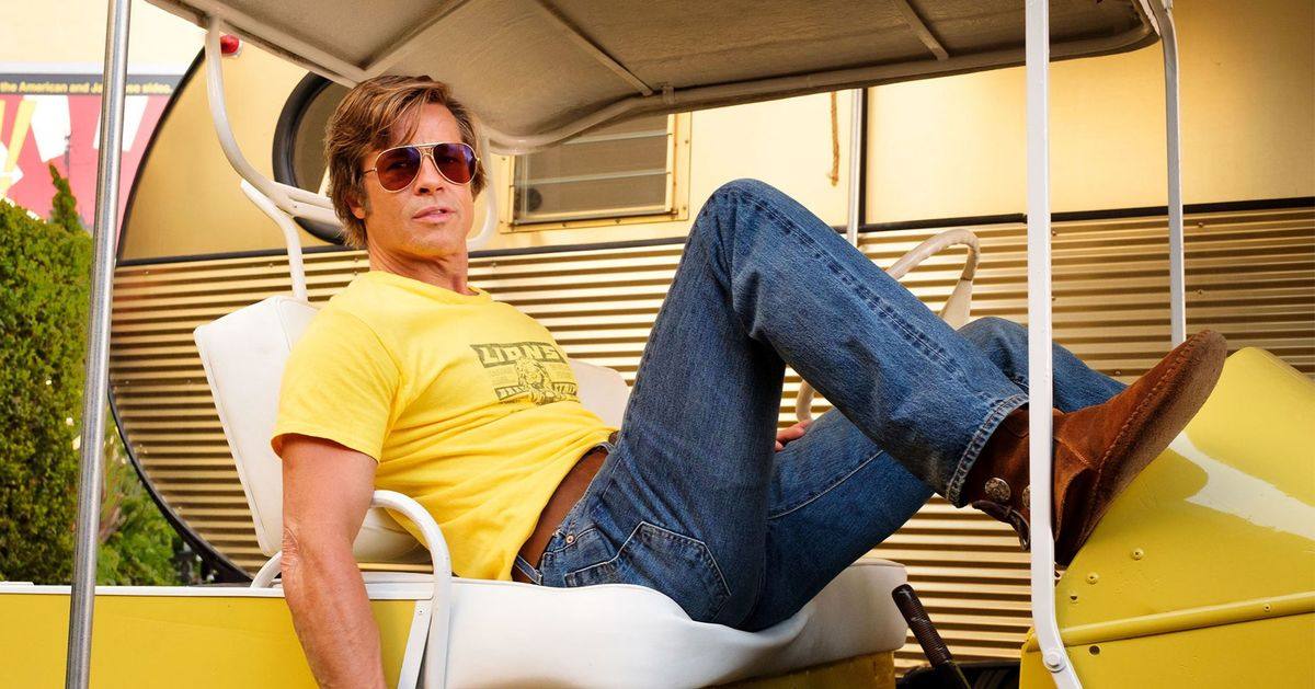 909294191fe0 Photos: Brad Pitt and Leo in 'Once Upon a Time in Hollywood'