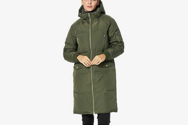Orolay Women's Thickened Waterproof Down Jacket Hooded Coat