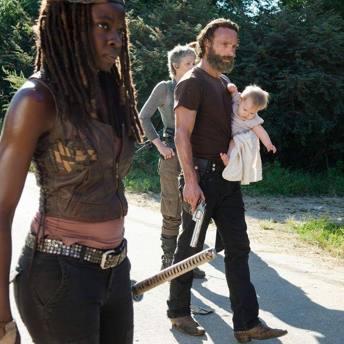 The Walking Dead Recap Rick Gets A Haircut