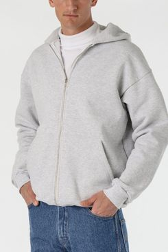 Los Angeles Apparel 14oz. Heavy Fleece Zip Up Hooded Sweatshirt