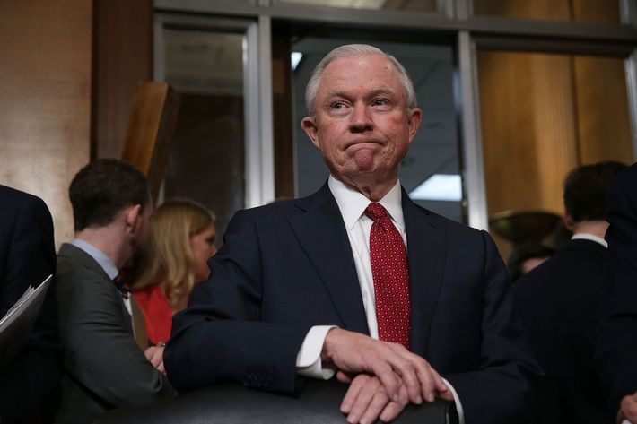 3 guilty of disruptions at attorney general confirmation