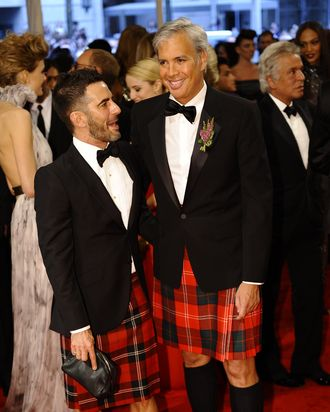 Marc Jacobs and Robert Duffy.
