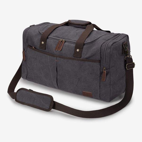S-ZONE Canvas Duffel Bag