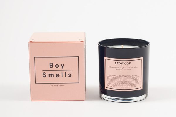 Boy Smells Redwood Scented Candle