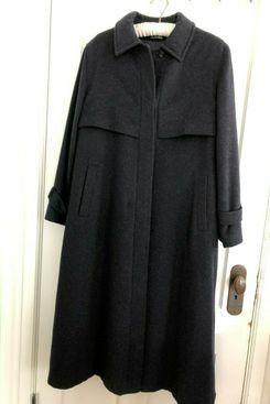 Schneiders Salzburg Black Wool Coat