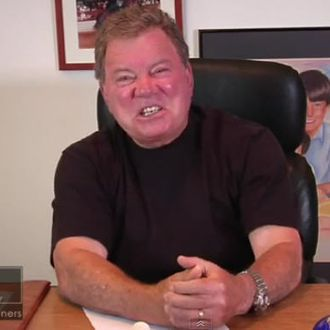 Watch William Shatner's Sassy Video Response to Carrie Fisher