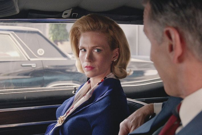 Betty on last night's episode of <em>Mad Men</em>.