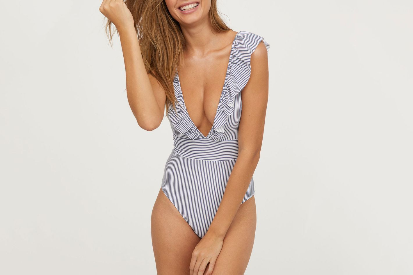 Swimsuit with Flounce