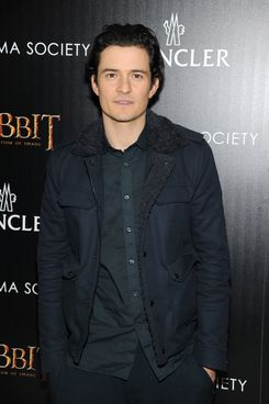 """NEW YORK, NY - DECEMBER 11:  Actor Orlando Bloom attends New Line Cinema and MGM Pictures' screening of """"The Hobbit: The Desolation of Smaug"""" hosted by the Cinema Society and Moncler on December 11, 2013 in New York City.  (Photo by Jamie McCarthy/Getty Images)"""