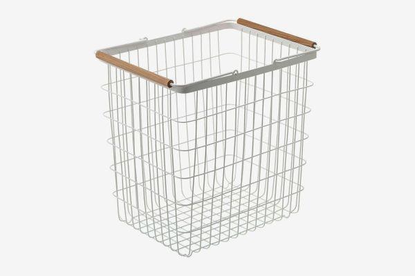 Yamazaki Home Tosca Laundry Basket, Large