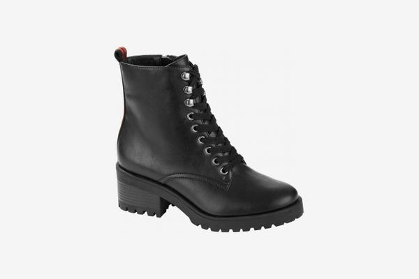 Scoop Maxine Lug Sole Combat Boot Women's