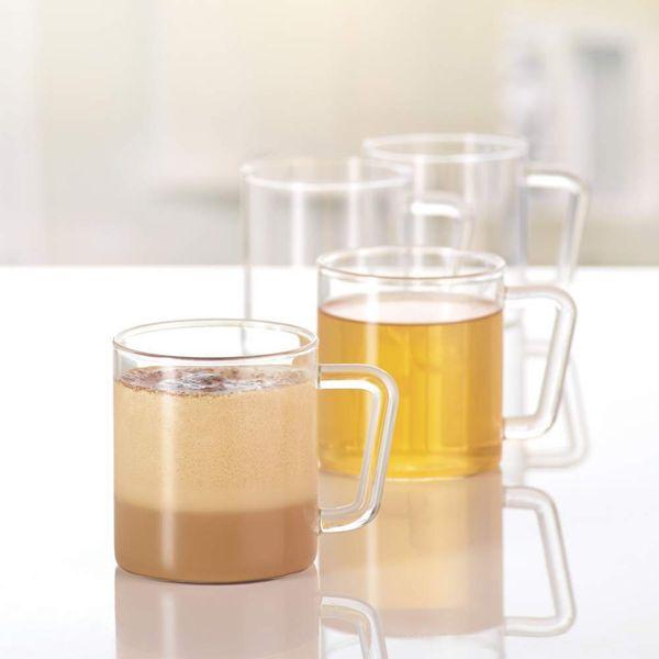 Borosil Vision Classic Large Mug, 10oz (Set of 4)