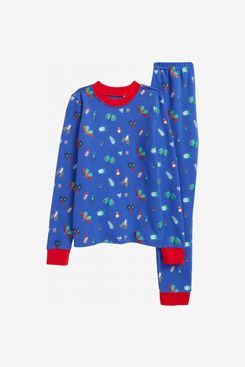 Tucker and Tate x Smithsonian Glow In the Dark Two Piece Fitted Pajamas
