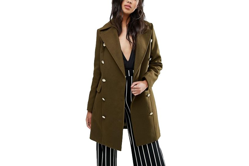 Boohoo Military Coat