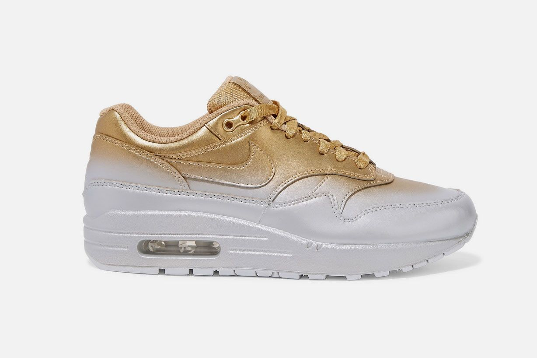 Nike Air Max LX Metallic Leather Sneakers