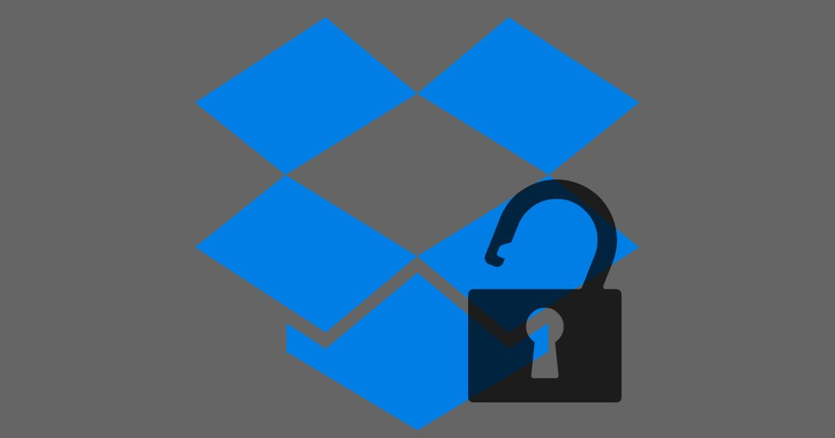 drop box how to change password