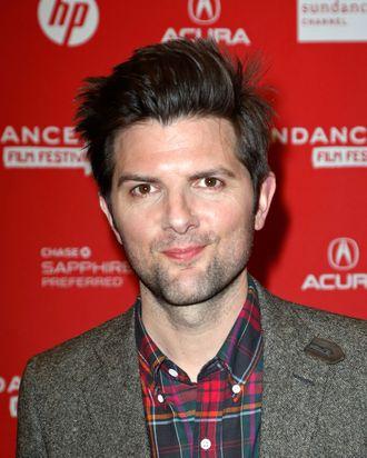 Actor Adam Scott attends the
