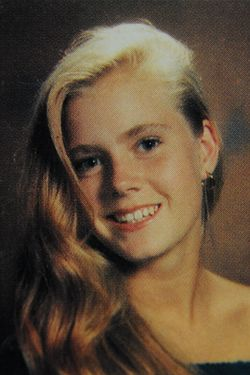 Here is 'Muppets' star Amy Adams as a fresh-faced schoolgirl. With her blonde locks swept over one shoulder, the then-unknown actress posed for yearbook photos at Douglas County High School in Castle Rock, Colorado. Other photos show the star as a member of the school's concert choir and 'DC' singing group. She was also part of the Fellowship of Christian Athletes. Adams is featured in the yearbooks from 1991 and 1992 - the year she graduated. <P> Pictured: Amy Adams aged 17 in 1992 <P> <B>Ref: SPL336177  211111  </B><BR/> Picture by: Splash News<BR/> </P><P> <B>Splash News and Pictures</B><BR/> Los Angeles:	310-821-2666<BR/> New York:	212-619-2666<BR/> London:	870-934-2666<BR/> photodesk@splashnews.com<BR/> </P>