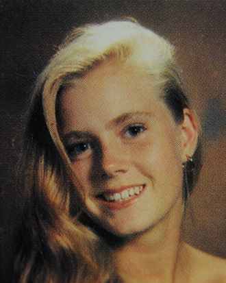 Here is 'Muppets' star Amy Adams as a fresh-faced schoolgirl. With her blonde locks swept over one shoulder, the then-unknown actress posed for yearbook photos at Douglas County High School in Castle Rock, Colorado. Other photos show the star as a member of the school's concert choir and 'DC' singing group. She was also part of the Fellowship of Christian Athletes. Adams is featured in the yearbooks from 1991 and 1992 - the year she graduated. <P> Pictured: Amy Adams aged 17 in 1992 <P> <B>Ref: SPL336177 211111 </B><BR/> Picture by: Splash News<BR/> </P><P> <B>Splash News and Pictures</B><BR/> Los Angeles:310-821-2666<BR/> New York:212-619-2666<BR/> London:870-934-2666<BR/> photodesk@splashnews.com<BR/> </P>
