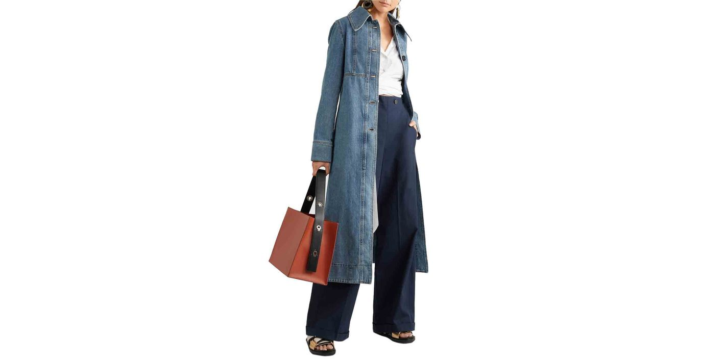 Marni Denim Coat Dress