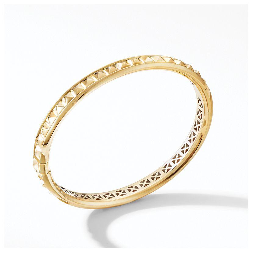 Modern Renaissance Pyramid Bracelet in 18K Yellow Gold