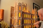 Watch a Guy Make the Downton Abbey House in Gingerbread Form