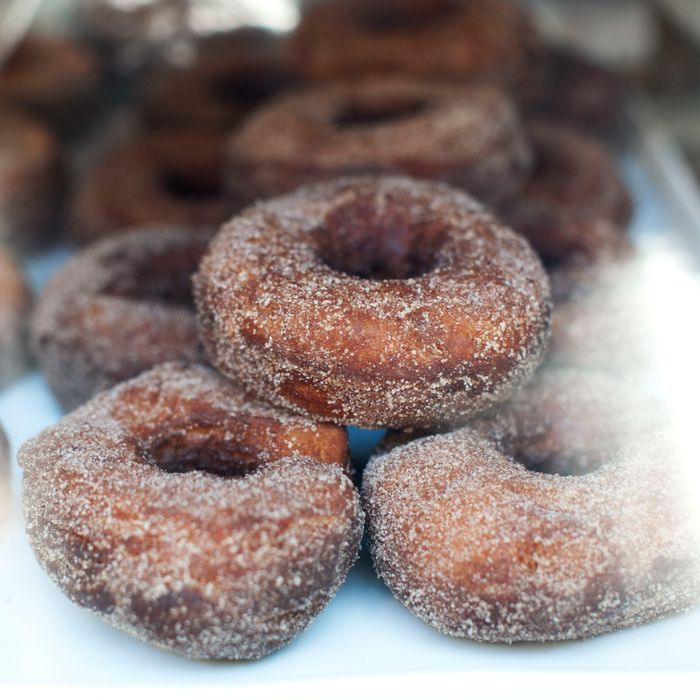 Blue Ribbon Bakery Market's challah doughnuts.
