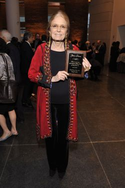 "Gloria Steinem==Brooklyn Museum's Annual Gala ""The Brooklyn Artists Ball""==The Brooklyn Museum, NYC==April 18, 2012==© Patrick McMullan==Photo - RYAN MCCUNE/ PatrickMcMullan.com===="