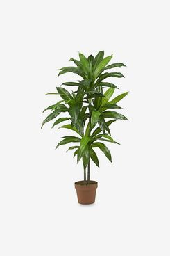 Nearly Natural 48-Inch Real Touch Dracaena Silk Plant