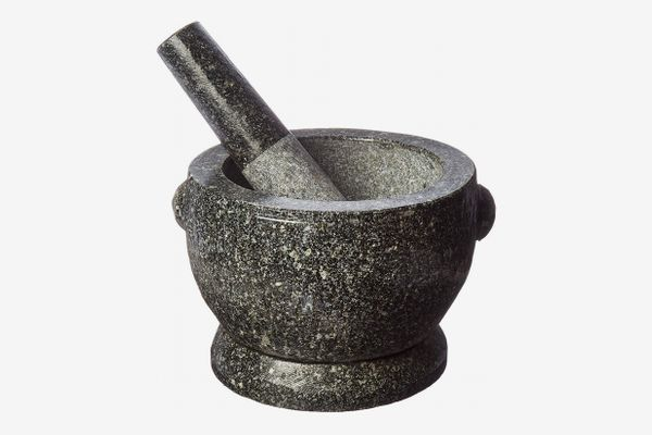 Large 8 Thai Granite Mortar and Pestle
