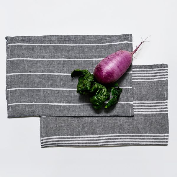 Snowe Linen Kitchen Towel Set