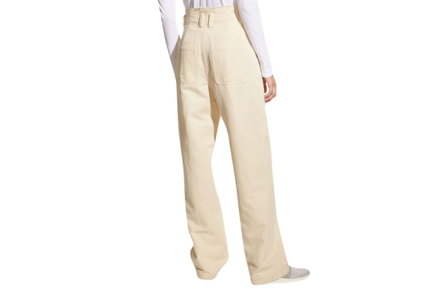 Seam Front Wide-Leg Pant for Women