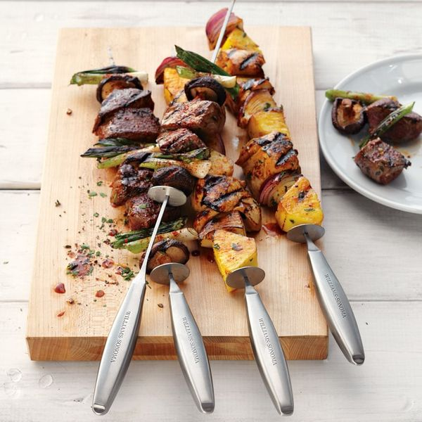 Williams Sonoma Stainless-Steel Sliding Skewers