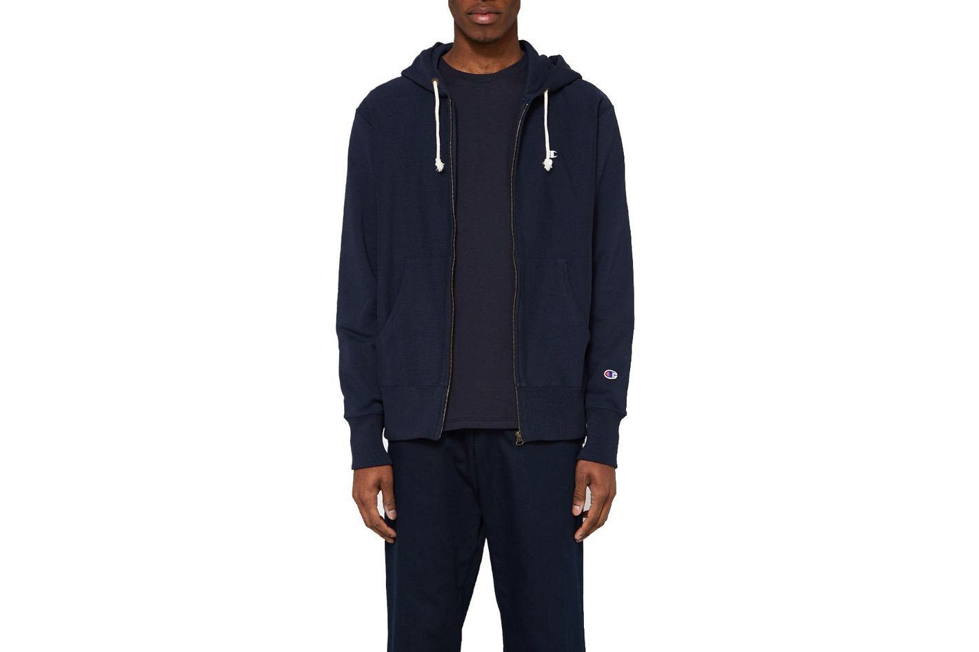 Champion Reverse Weave RW Terry Hooded Zip Sweatshirt
