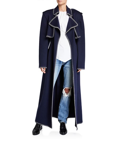 Roman Wool Trench Coat