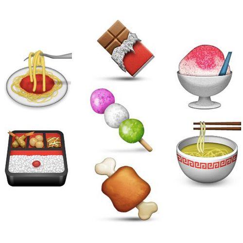Food hieroglyphs in need of a rosetta stone.